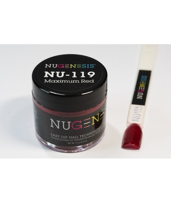 NU119 Maximum red