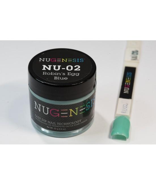 Nu02 Robin's Egg Blue