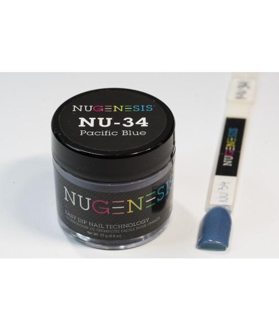 NU34 Pacific Blue